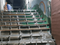 Repairs to Baby Box Stairs - South Korea